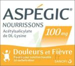 ASPEGIC NOURRISSONS 100 mg, poudre pour solution buvable en sachet-dose à Marmande