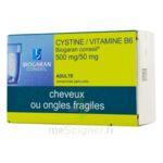 CYSTINE / VITAMINE B6 BIOGARAN CONSEIL 500 mg/50 mg, comprimé pelliculé à Marmande