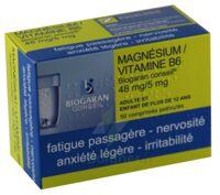 MAGNESIUM/VITAMINE B6 BIOGARAN CONSEIL 48 mg/5 mg, comprimé pelliculé à Marmande