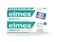 ELMEX SENSITIVE DENTIFRICE, tube 75 ml, pack 2 à Marmande