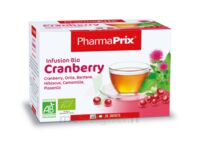 PHARMAPRIX Infusion Bio Cranberry Boîte 20 sachets à Marmande
