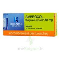 AMBROXOL BIOGARAN CONSEIL 30 mg, comprimé sécable à Marmande