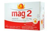 MAG 2 SANS SUCRE 122 mg, solution buvable en ampoule édulcoré à la saccharine sodique à Marmande