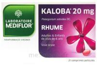 KALOBA 20 mg Cpr pell Plq/21 à Marmande