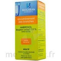 AMBROXOL BIOGARAN CONSEIL 0,6 % Solution buvable sans sucre édulcorée au sorbitol Fl/100ml+godet à Marmande